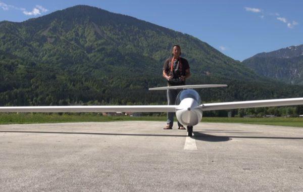 Segelflug in Perfektion Pilot Bernhard Pirker